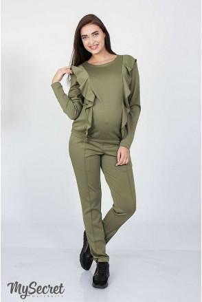 Костюм Shaia хаки для беременных и кормящих