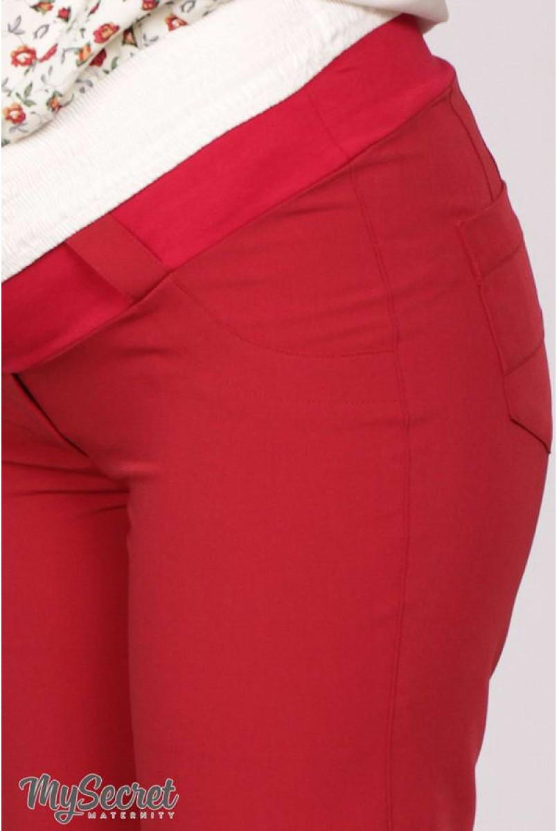 Брюки Ava TR-28.022 темно-красный для беременных
