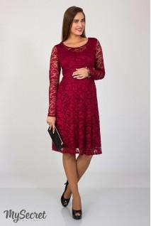 Сукня Deisy бордовий для вагітних