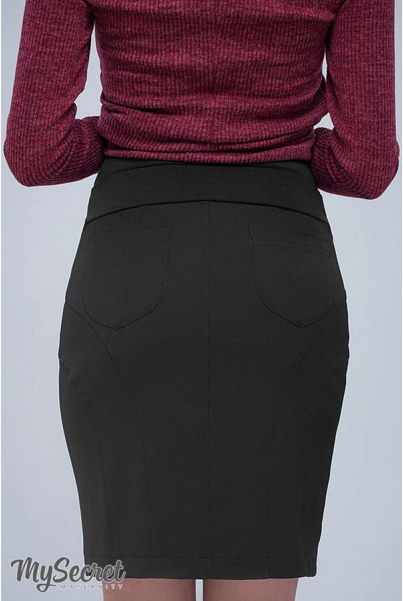 Юбка Alma черный для беременных