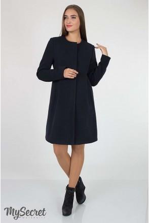 Пальто Madeleine темно-синій для вагітних