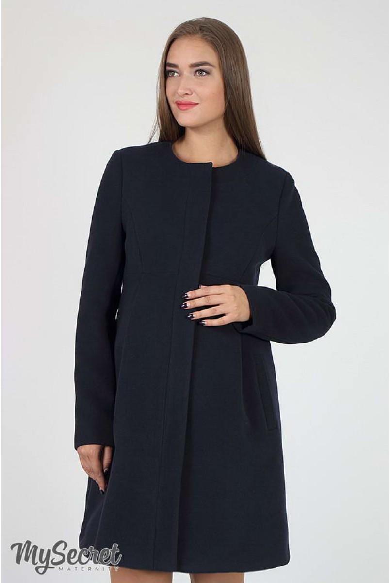 Пальто Madeleine темно-синий для беременных