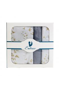Комплект дитячої постільної білизни Embrace птиці
