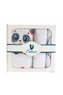 Комплект дитячої постільної білизни Embrace Пандочки