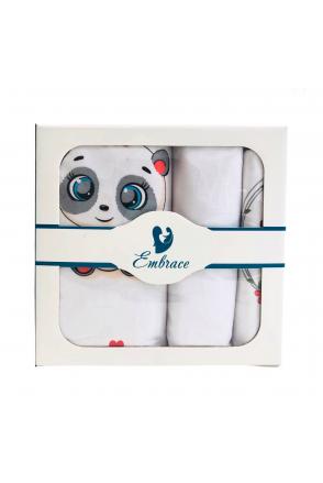 Комплект детского постельного белья Embrace Пандочки