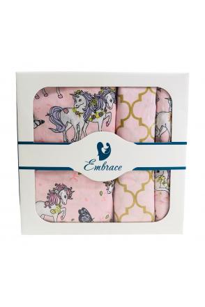 Комплект детского постельного белья Embrace Единороги