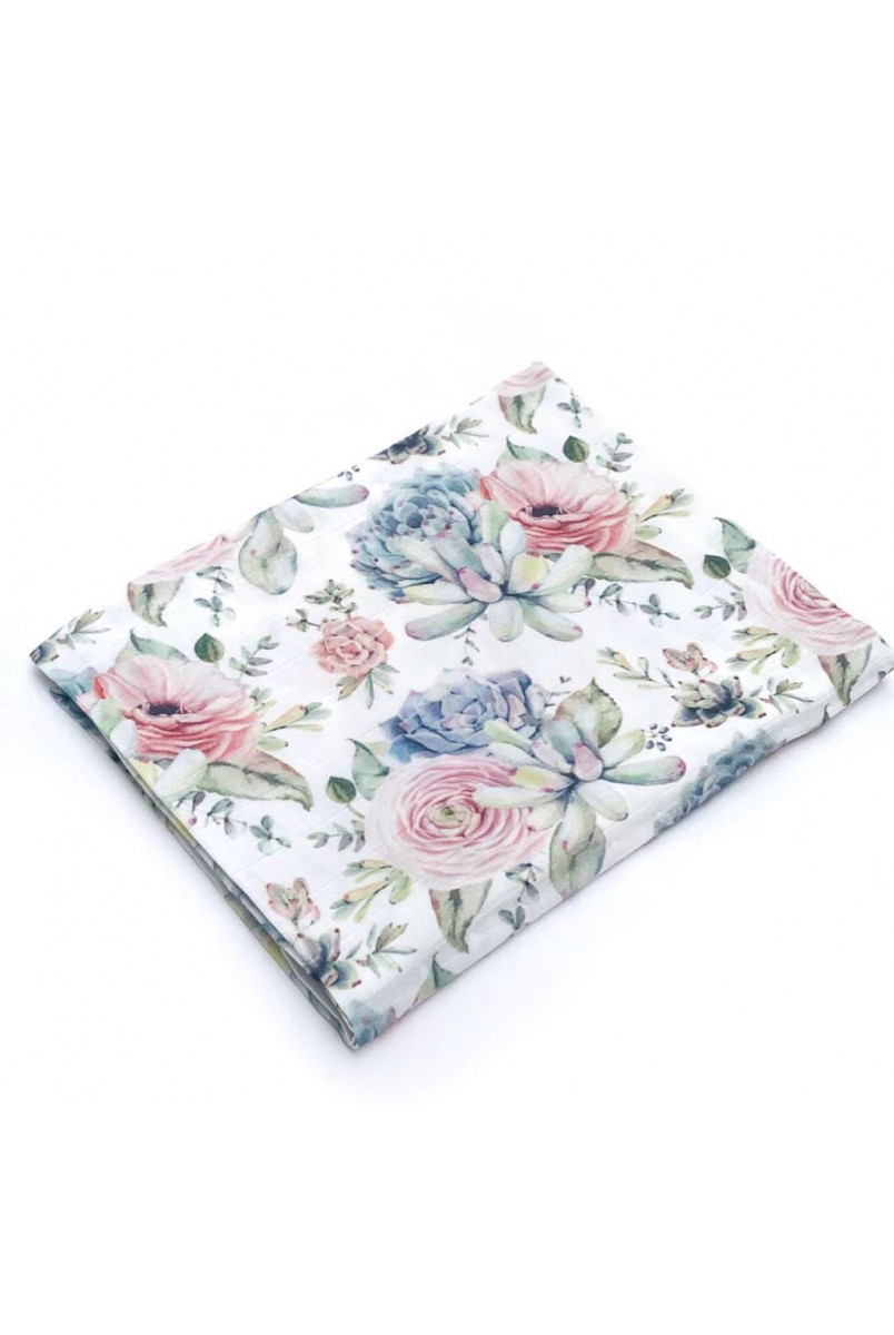 Пелюшка муслінова (бамбук) троянди Сукуленти