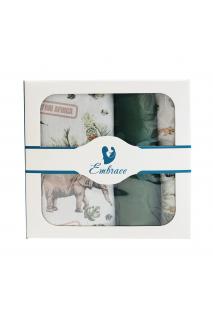 Комплект дитячої постільної білизни Embrace Сафарі