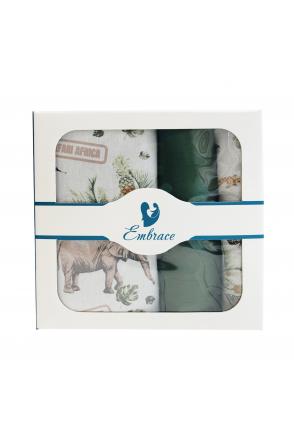 Комплект детского постельного белья Embrace Сафари