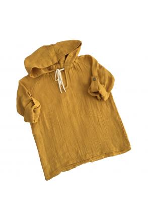 Туника муслиновая для детей Embrace горчичная