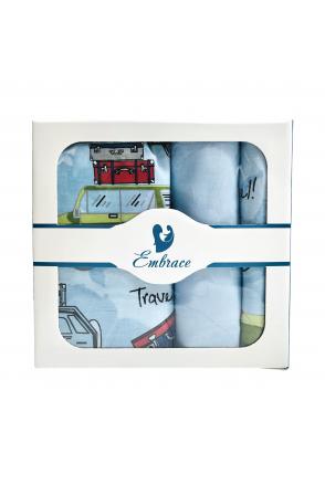 Комплект детского постельного белья Embrace Машины