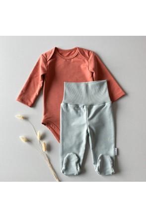 Набор боди + ползунки для детей Boonyx Brick+Mint