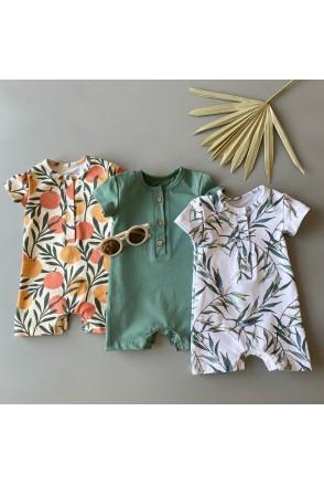 Набор песочников для детей Boonyx Tangerine+Emerald+Leaves