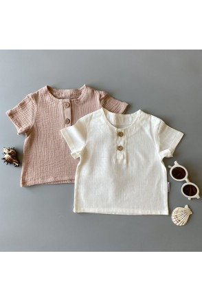 Набор футболок для детей Boonyx Milk+Visone