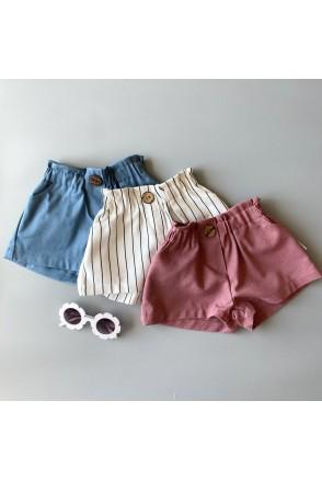 Набор шорт для девочек Boonyx Stripes+Rose+Jeans