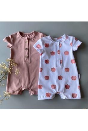 Набор песочников для детей Boonyx Dusty Rose+Apples