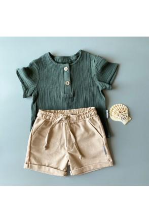 Набор для мальчиков Boonyx шорты Visone + футболка Kale