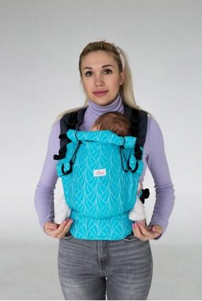 Эрго-рюкзак Adapted Blue Lagoon