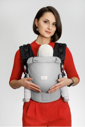 Эрго-рюкзак Adapted SILVER