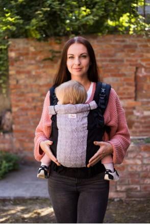 Эрго-рюкзак Toddler Черный