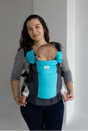Эрго-рюкзак Toddler AQUAMARINE