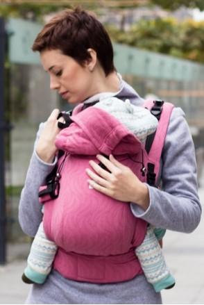 Эрго-рюкзак Adapted Rose