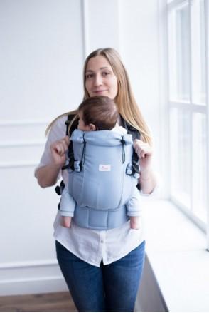 Эрго-рюкзак Adapted Дымчато-голубой