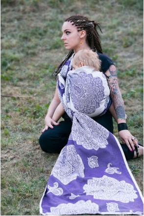 Слинг-шарф Adornos Indios Purple