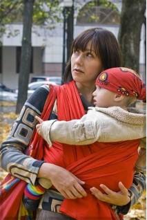 Слінг-шарф Red