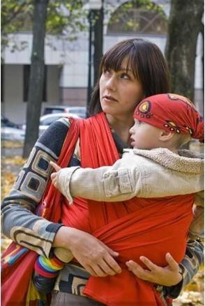 Слинг-шарф Red
