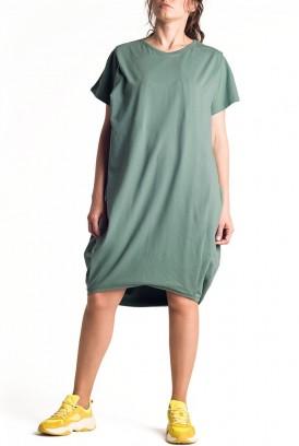 Сукня арт. S200403 оливкова для вагітних і годування