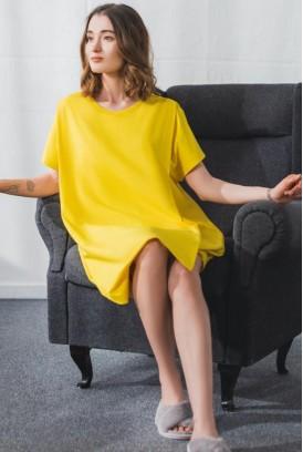 Сукня арт. S200405 жовта для вагітних і годування