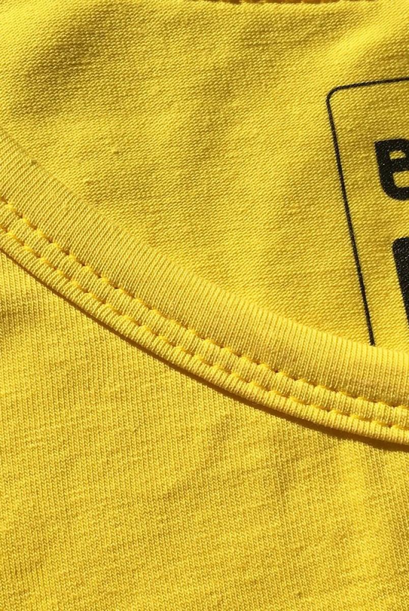 Платье арт. S200405 желтое для беременных и кормления