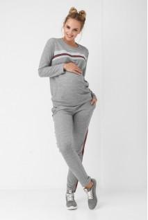 Штани сірі 867 1061 для вагітних
