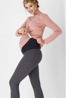 Лосины серая клетка 1810 0007 для беременных