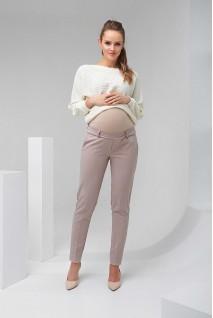 Штани 2082 1406 бежевий для вагітних