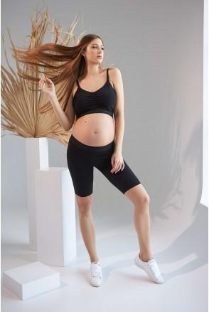 Велосипедки 2161 1533 Чорний Для вагітних
