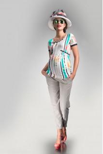 Футболка Принт абстракция 1414 0953 для беременных