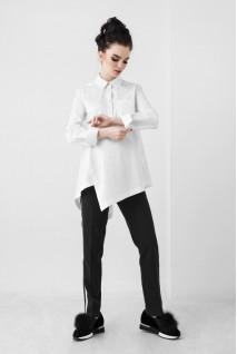 Рубашка белого цвета 1801 0173 для беременных