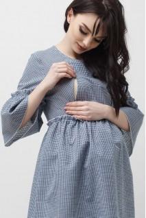 Блуза серая 1829 0000 для беременных и кормления
