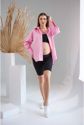 Рубашка 2151 1526 розовый для беременных и кормления