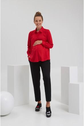 Рубашка для беременных и кормления Dianora 2138 1519 красный