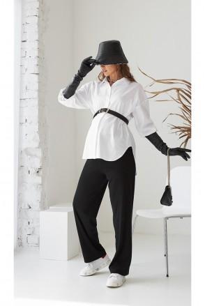Рубашка для беременных и кормления Dianora 2151 0173 белый