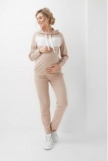 Спортивний костюм Бежевий 2005 (6) 1400 для вагітних і годування