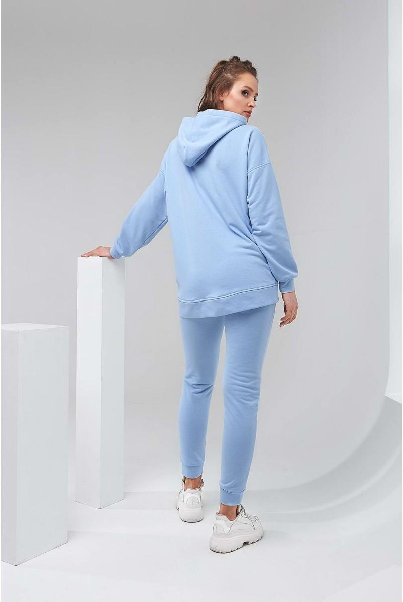 Спортивний костюм 2135(6) 1521 блакитний для вагітних і годування
