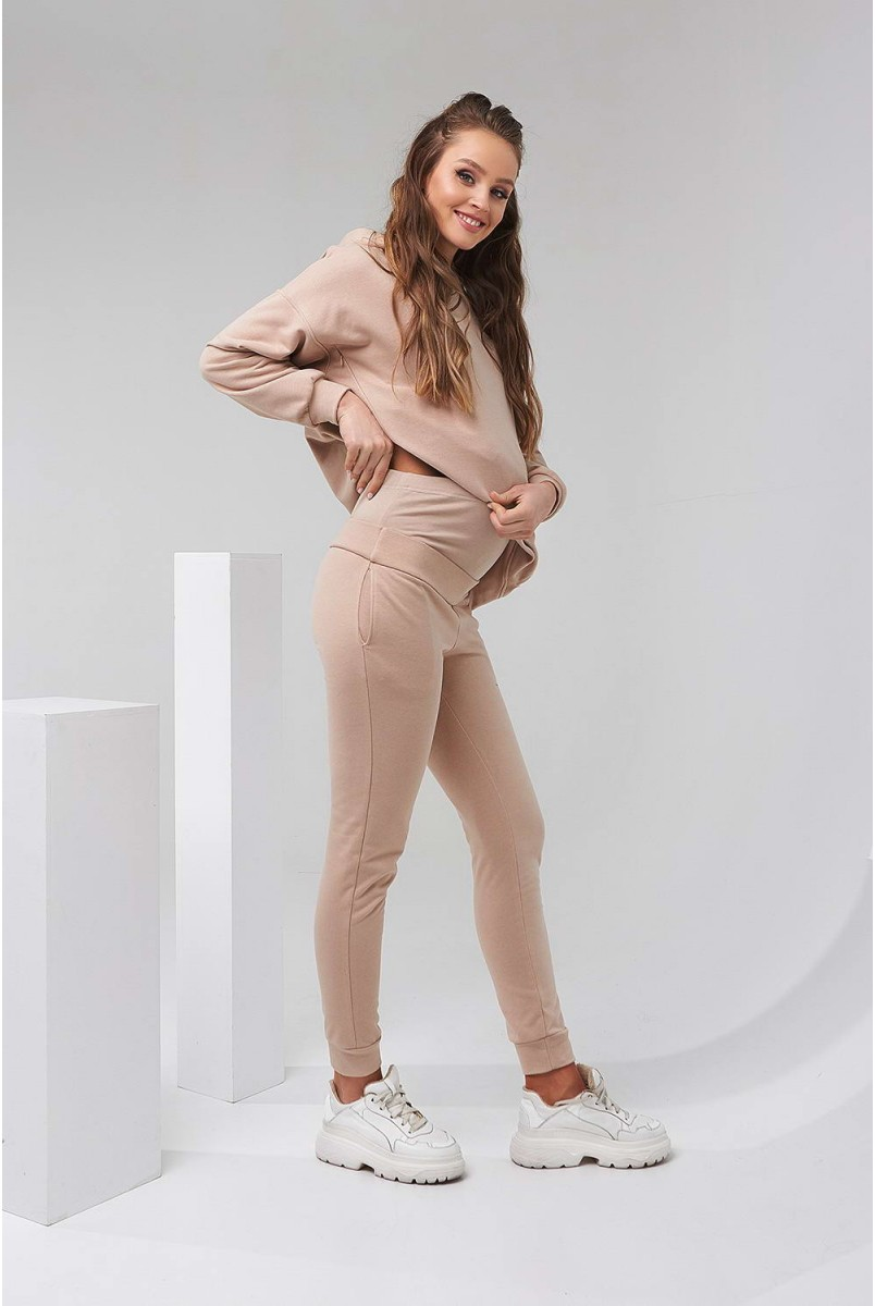 Спортивний костюм 2135 (6) 1501 бежевий для вагітних і годування