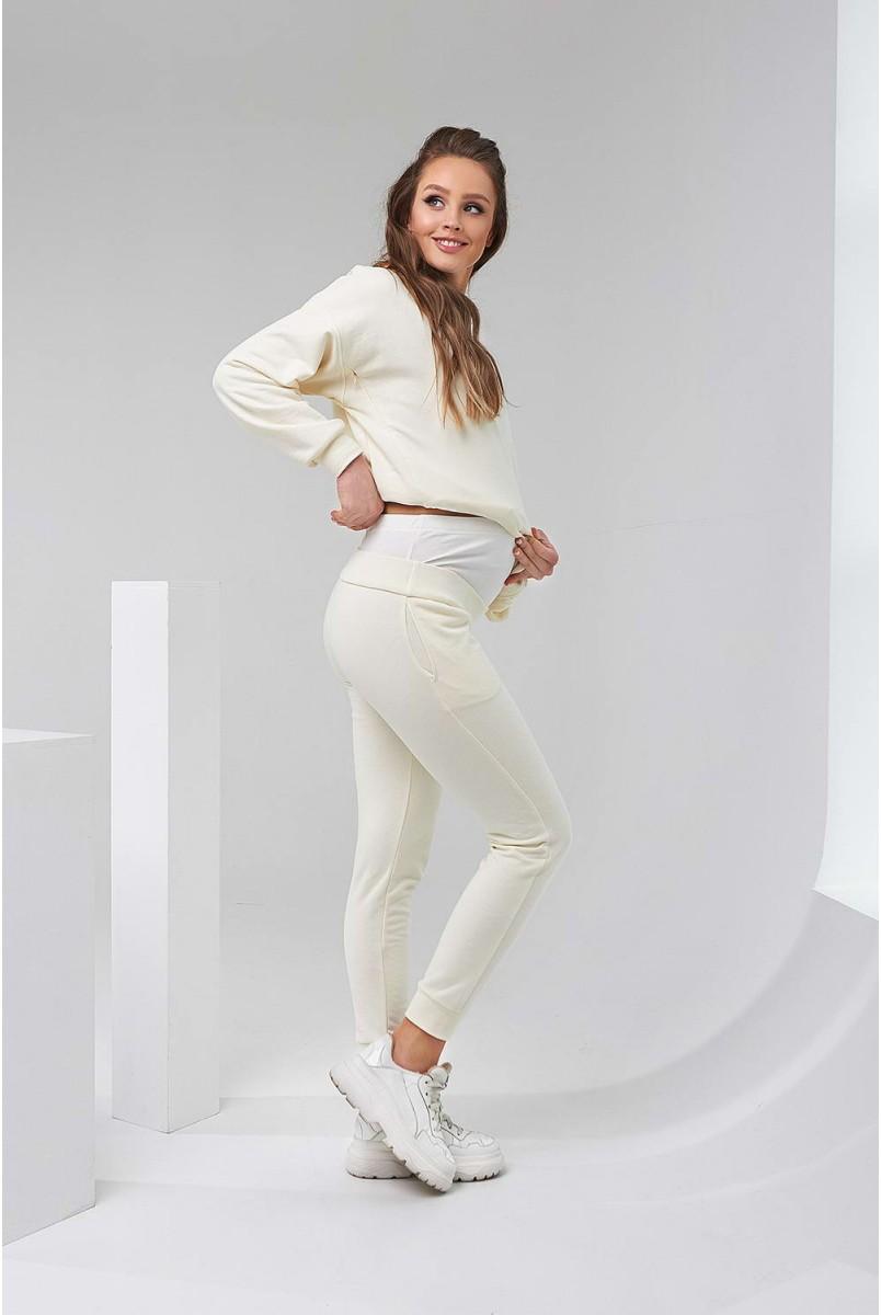 Cпортивный костюм 2135(6) 1502 айвори для беременных и кормления
