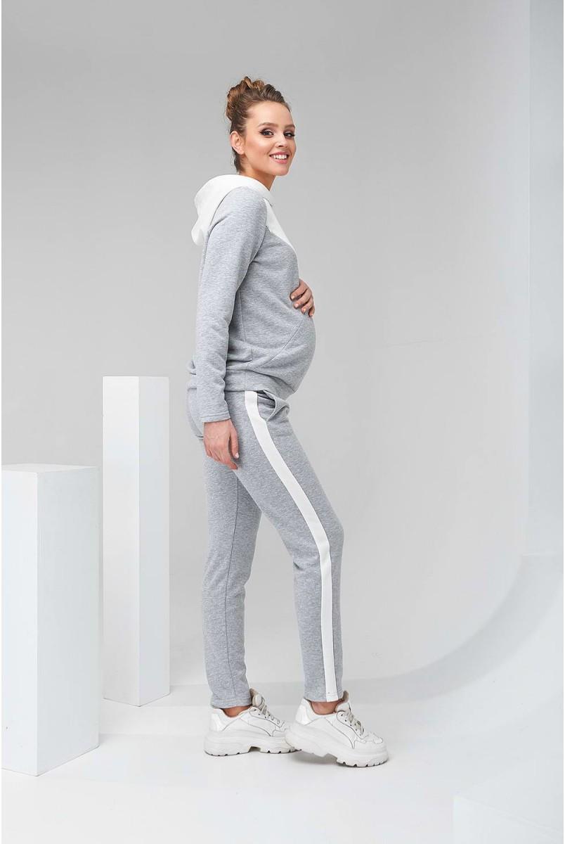 Спортивний костюм 2146 (7) 1061 Сірий Для вагітних і годування