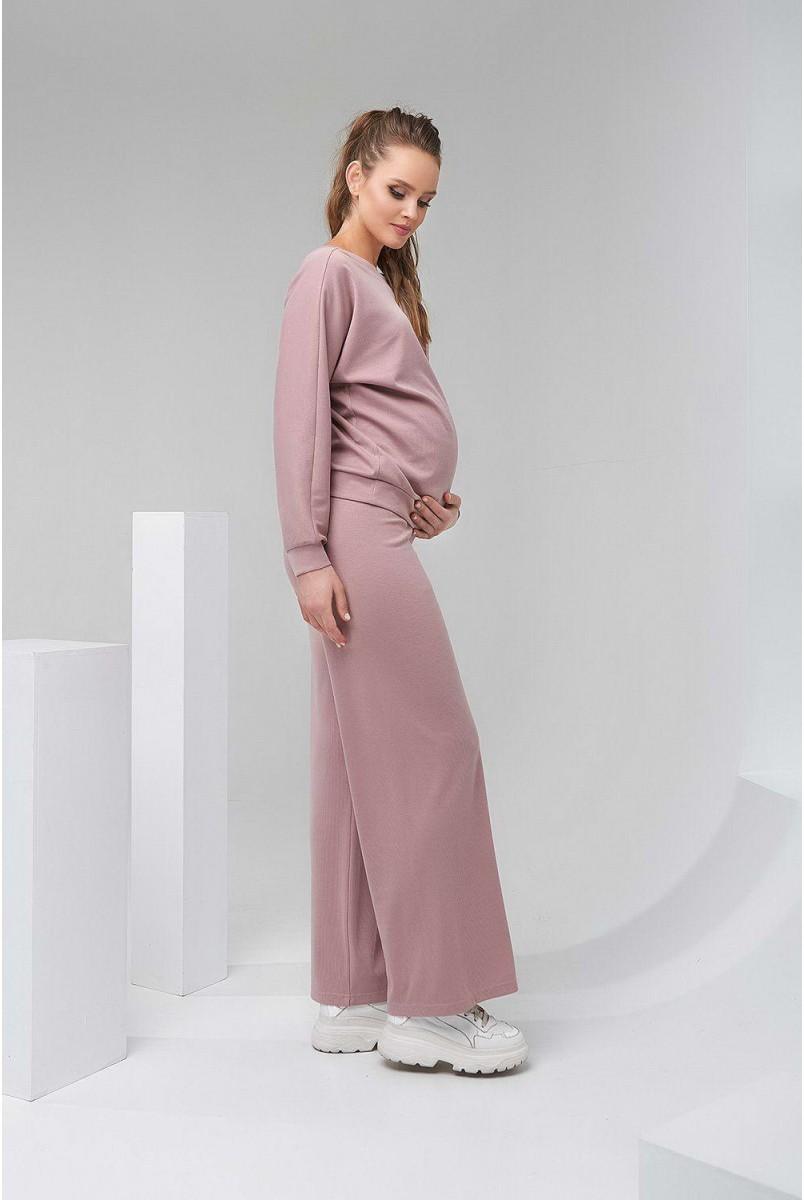 Спортивний костюм 2128 (9) 1510 пудровий для вагітних