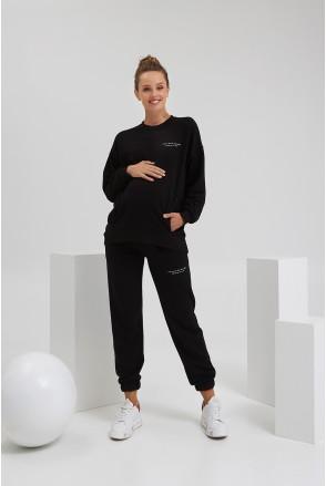 Спортивный костюм для беременных и кормления Dianora 2187(72) 1420 черный